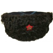 Soviet pre war or a war time era kubanka fur hat for cossacks of a Voisko Donskoe Войско Донское