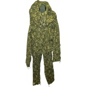 Soviet War pattern camouflage suit, camo type Birch - Beryozka