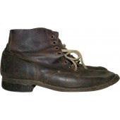 Soviet WW2 issue lend lease leather boots