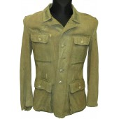 Wehrmacht Heer M 43 Feldbluse - tunic, may be POW issue