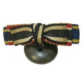 WW1 Bavaria ribbon bar for a lapel's eyelet