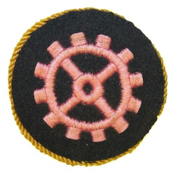 WW2 German Wehrmacht Heer Master tech artisans sleeve trade patch. Espenlaub militaria