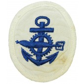 WW2 Kriegsmarine NCO's sleeve insignia for torpedo mechaniker- torpedo mechanics