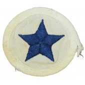 WW2 Kriegsmarine trade badge for enlisted personnel for white summer uniforms- Boatsman.