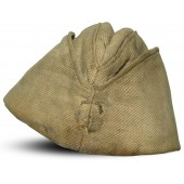 WW2 Russian pilotka side hat, cotton