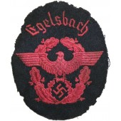Egelsbach Fire police sleeve eagle. Third Reich