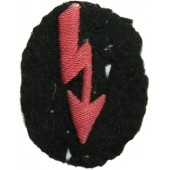 WW2 M 36 German Army Signals Operator patch used by Anti-tank units