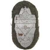 """Demjansk"" 1942 sleeve shield"