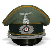Wehrmacht Officers visor hat, 1 or 2 squad of cavalry regiment 5