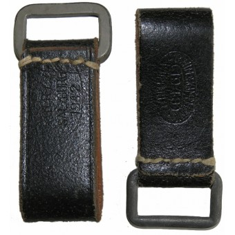 WW2 German support D-belts for waist belt for use with Y-straps. Espenlaub militaria