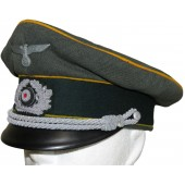 Armoured reconnaissance of the Wehrmacht visor hat for officers
