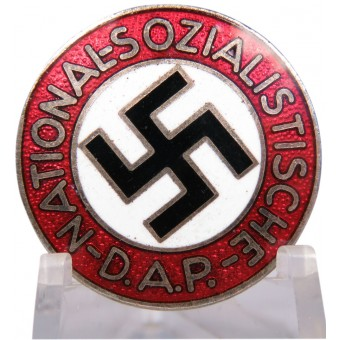 An early pre-1933 badge of the NSDAP party in near mint condition. Espenlaub militaria