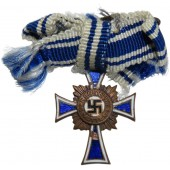 Miniature of the Mother cross, bronze class. Third Reich