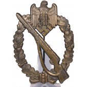 Rudolf Karneth Infantry Assault Badge in Bronze