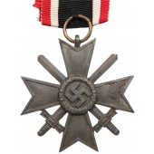 "War Merit Cross w/swords -Third Reich. Klein & Quenzer A.G. Idar-Oberstein, ""65"""