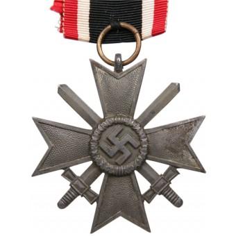 War Merit Cross w/swords -Third Reich. Klein & Quenzer A.G. Idar-Oberstein, 65. Espenlaub militaria