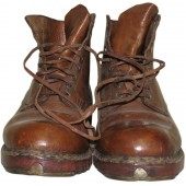 Hitler Youth mountain boots made by private order for units from the Ostmark region