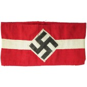 The armband of a member of the Hitler Youth or BDM
