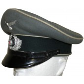 Lower rank of the Wehrmacht infantry servicemen visor hat