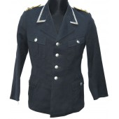 Oberfeldwebel's Tuchrock tunic of the flight crew or paratroopers of the Luftwaffe