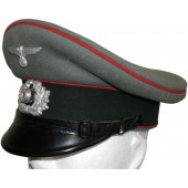 Wehrmacht Heer artillery NCOs visor hat. The pre-war issue