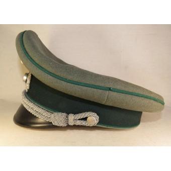 3rd Reich German officers visor hat for Heer Gebirgsjager or Administration. Espenlaub militaria