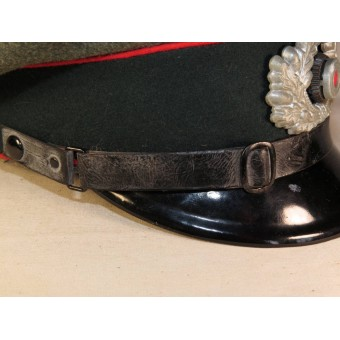 3rd Reich Wehrmacht Heeres Artillery visor hat for NCOs. Espenlaub militaria
