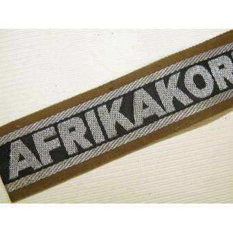 Afrikakorps cufftitle DAK. Espenlaub militaria