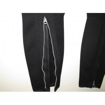 Black SS breeches for SS-VT, SS-TV or Allgemeine-SS. Espenlaub militaria