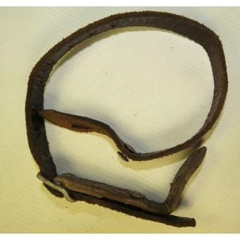 German helmet chinstrap Kriegsmarine marked. Espenlaub militaria