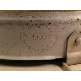German helmet liner M 31, aluminum, early. Espenlaub militaria