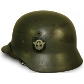 German M 35 Polizei double decal helmet