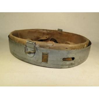German steel helmet liner Schuberth Werk KG Braunschweig 1943 year. Espenlaub militaria