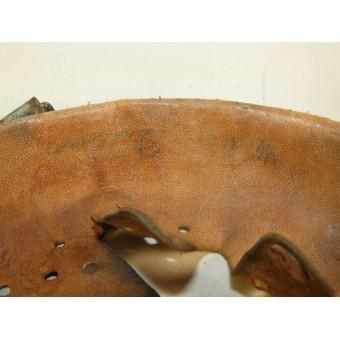 German steel helmet M 31 liner made by Schuberth Werk KG Braunschweig 1940. Espenlaub militaria