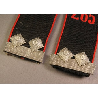 HJ Oberscharfuhrer shoulder straps, red piping - Bann 2. Espenlaub militaria