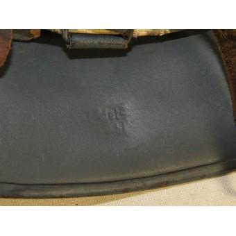 M 34 civil defense RLB steel helmet. Reichsluftschutzbund helmet. Espenlaub militaria