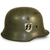 "M 34 double decal"" Medium duty"" SS-VT or SD helmet"