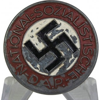 NSDAP memberbadge mid WW2 made M1/159 RZM