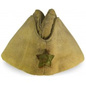 Soviet Russian cotton pilotka side hat