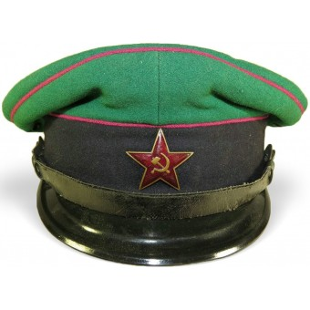 Soviet Russian M 27 visor hat for border guard troops of NKVD. Espenlaub militaria