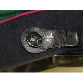 Soviet Russian M 27 visor hat for border guard troops of NKVD. Espenlaub militaria