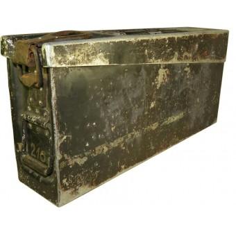 SS-VT Standarte Deutschland MG-Gerat 34 ammo box. Espenlaub militaria