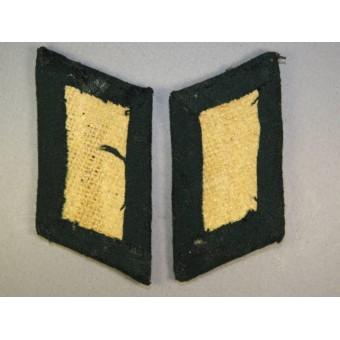 Wehrmacht Heer artillery officers collar tabs. Espenlaub militaria
