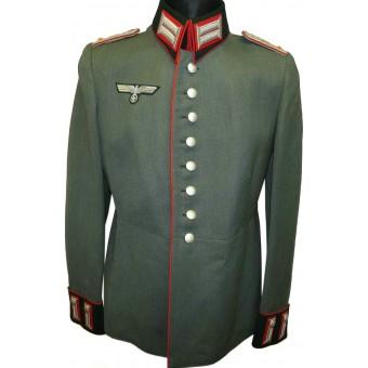 Wehrmacht Heer Waffenrock for rank of Oberleutnant of Artillery in reserve in 41 Artillery regiment. Espenlaub militaria