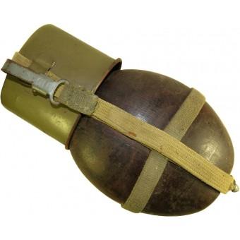 WW2 German coconut canteen HRE 43. Espenlaub militaria
