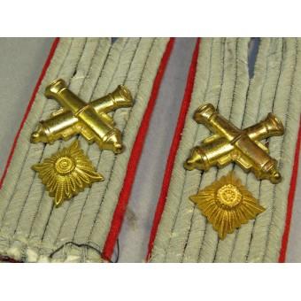 WW2 German Waffenmeister im Rang - Oberleutenant Shoulder boards. Espenlaub militaria