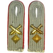 WW2 German Waffenmeister im Rang - Oberleutenant Shoulder boards