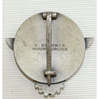 Reichsberufswettkampf 1939 GAUSIEGER-HJ victors badge in the national trade competition. Espenlaub militaria