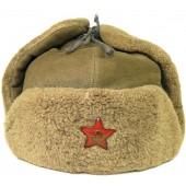 RKKA/ Red Army M40 winter hat, ushanka.