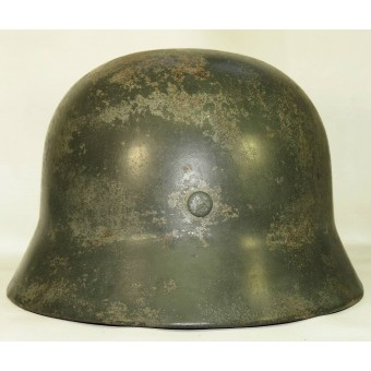 Double decal steel helmet, model 1935 for combat police units, SE66. Espenlaub militaria